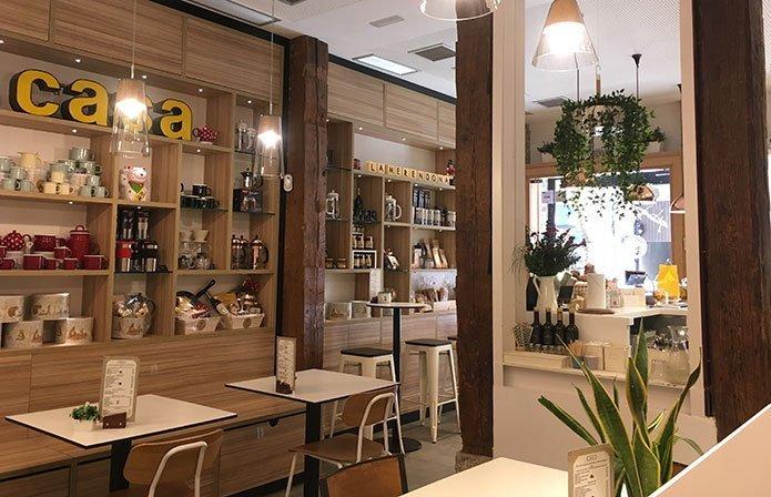 Cafeterías para desconectar del trabajo