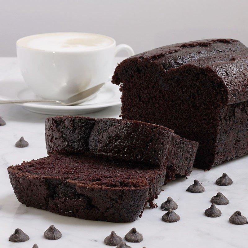 <b>Bizcocho de chocolate</b>  <br>esponjoso y de sabor intenso