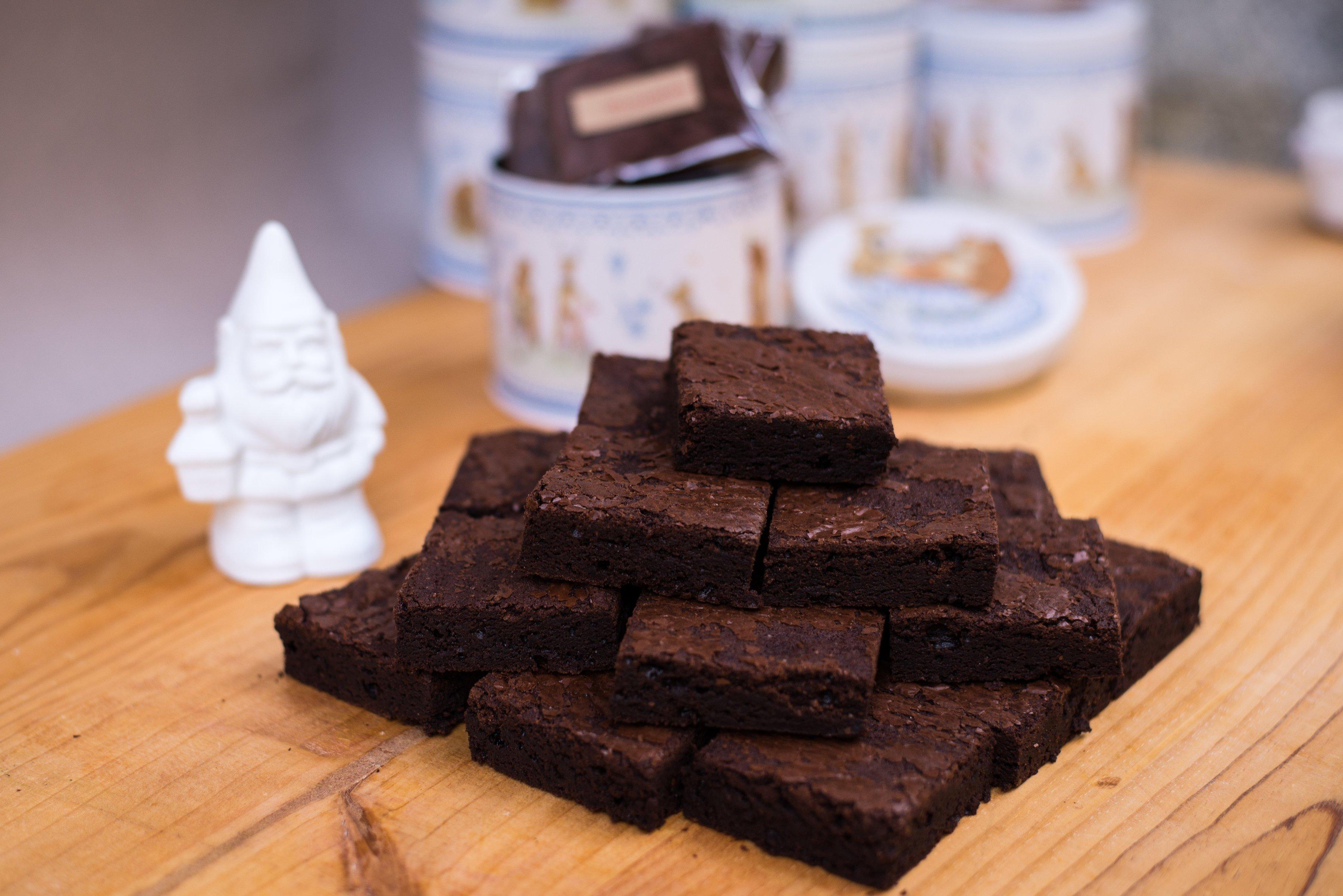 <b>Brownie</b> <br> ideales en cualquier momento