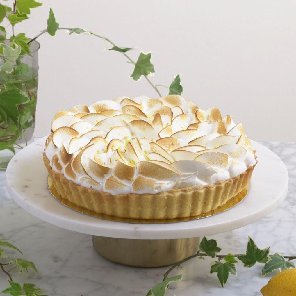 <b>Tartaleta de limón </b> <br>con merengue flambeado