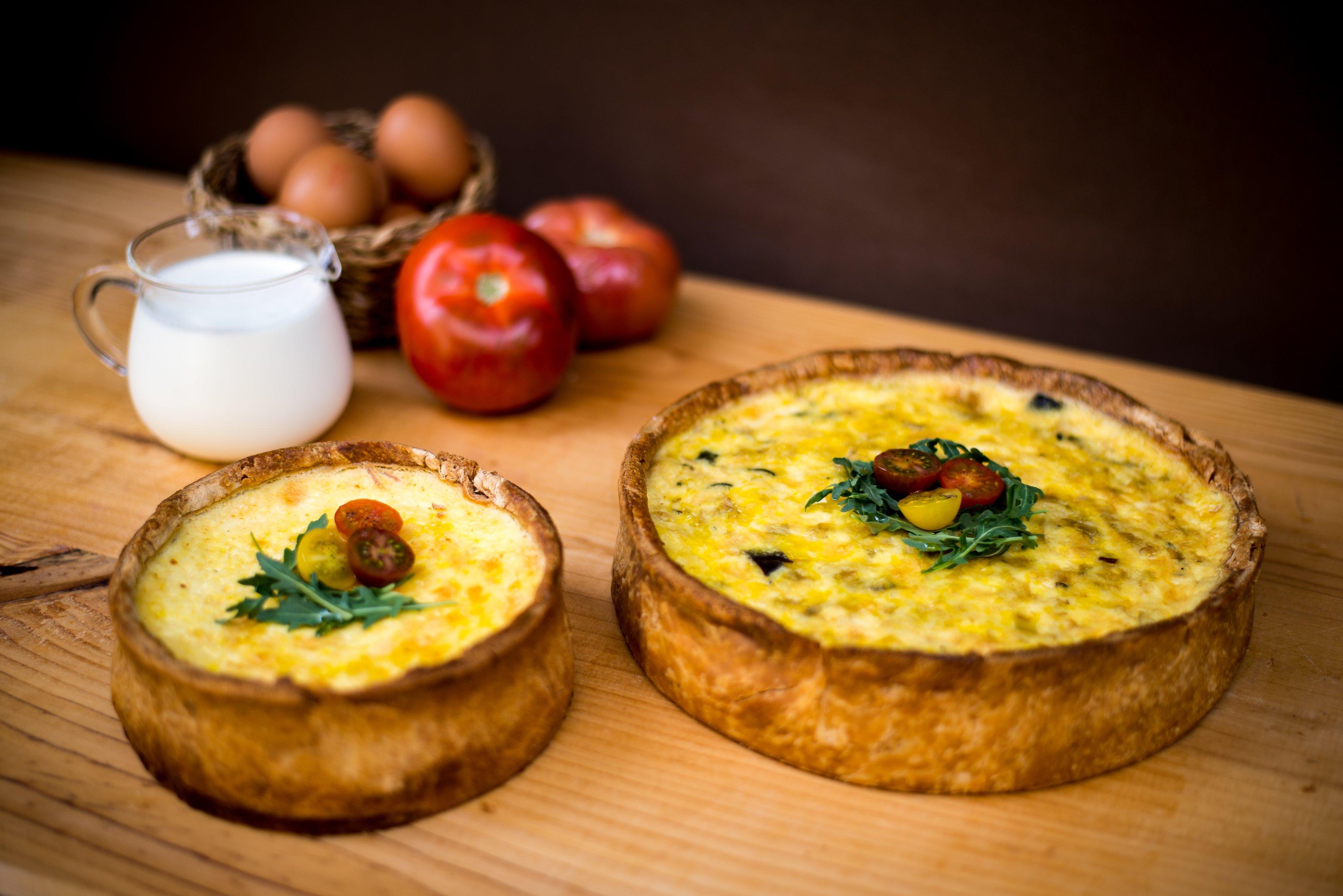 <b>Quiche de espinacas y calabacín</b><br>nuestra receta más francesa</b>