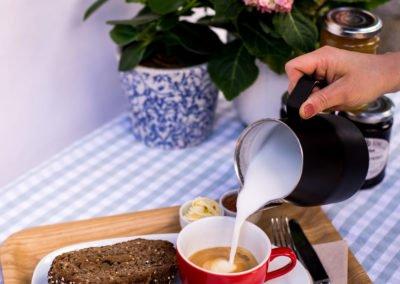 tostadas merendona cafe