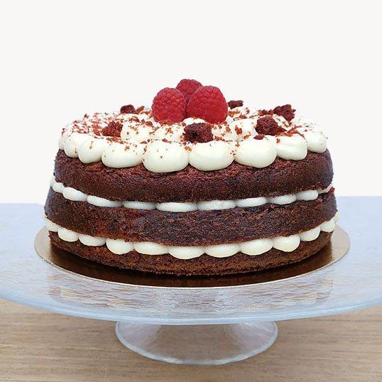 <b>Tarta red velvet</b><br>apasionada y deliciosa