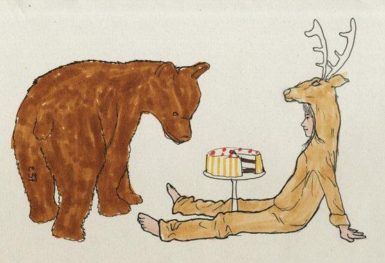 Mia y el oso