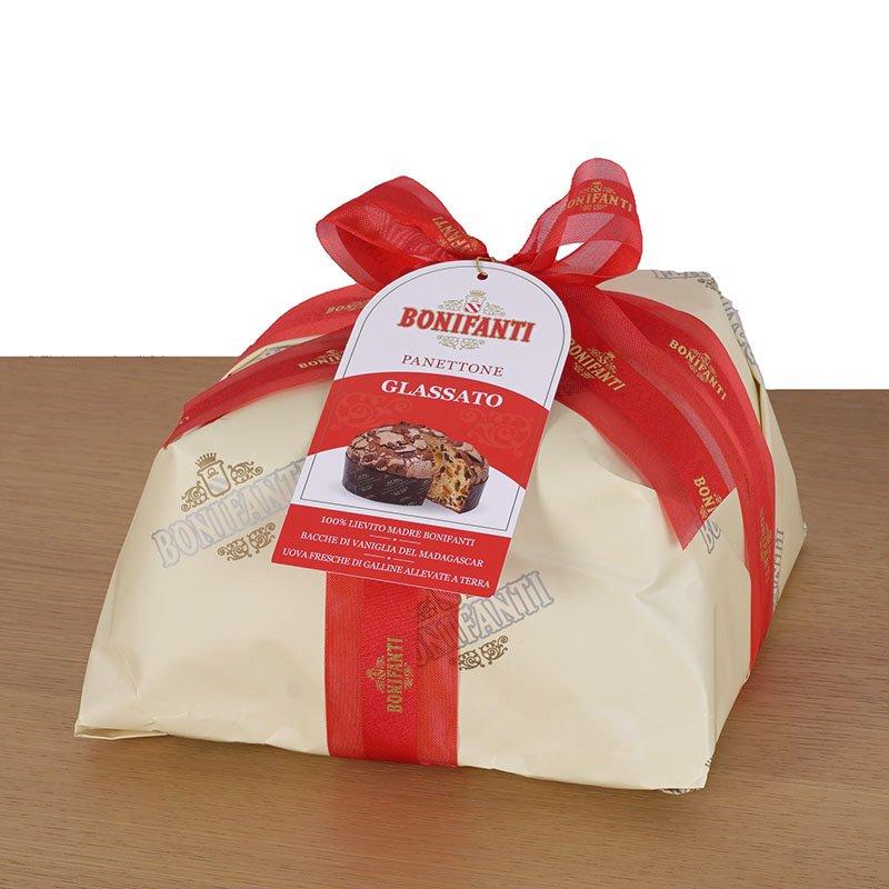 <b>Panettone Bonifanti Glassato</b> <br>100% Sabor italiano de navidad