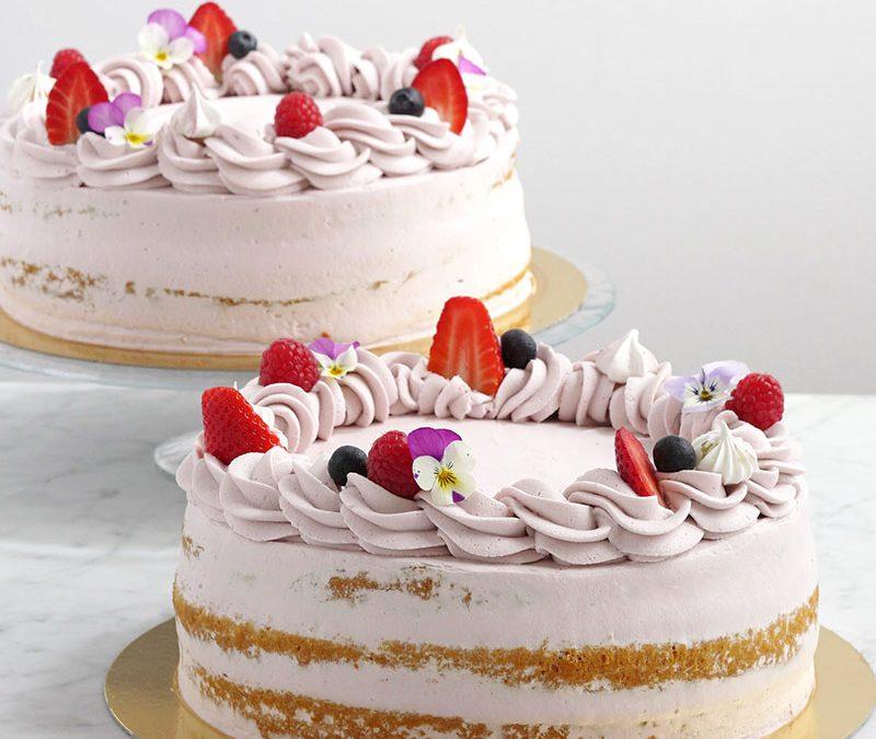 Tarta de fresas y lavanda, ¡hay que probarla!