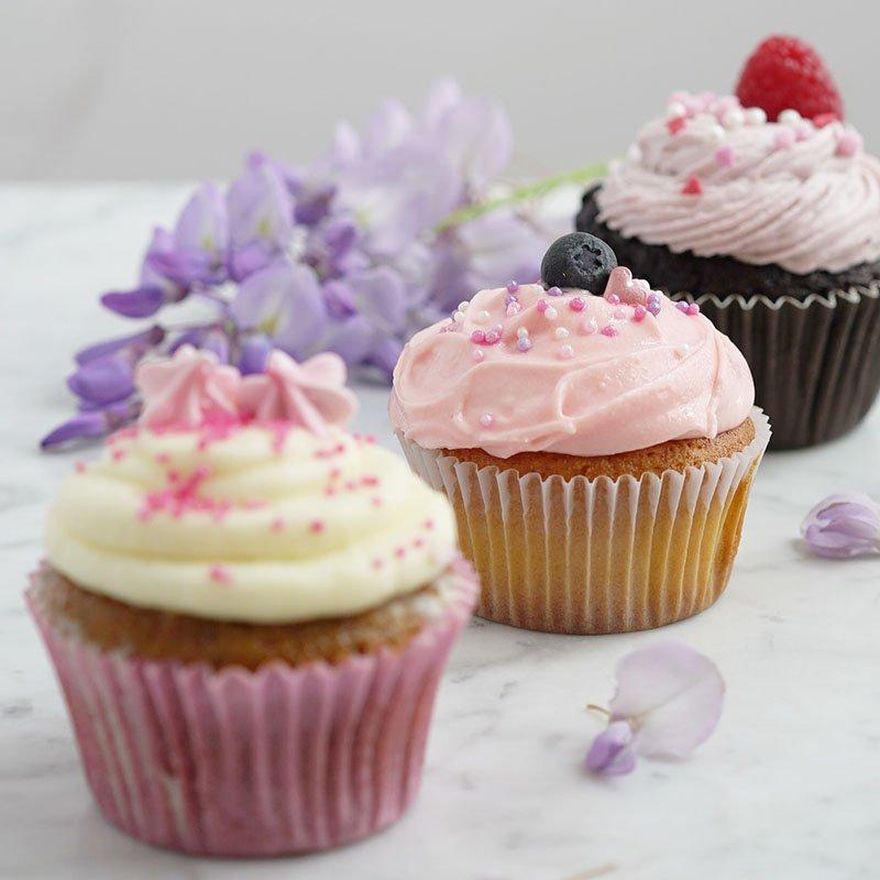 <b>CUPCAKES</b> <br>Tres sabores para compartir (6 unidades)